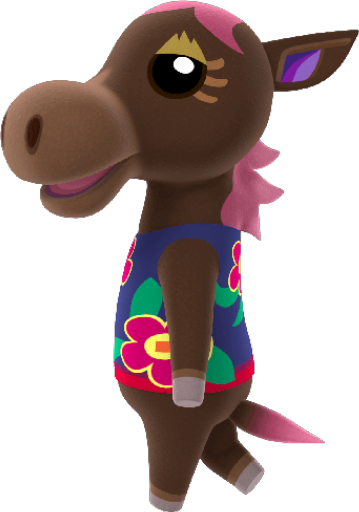 Animal Crossing New Horizons Annalise Villager Image