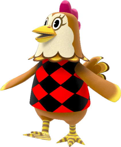 Animal Crossing New Horizons Ava Villager Image