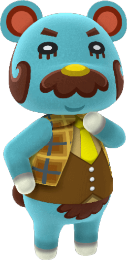 Animal Crossing New Horizons Beardo Image