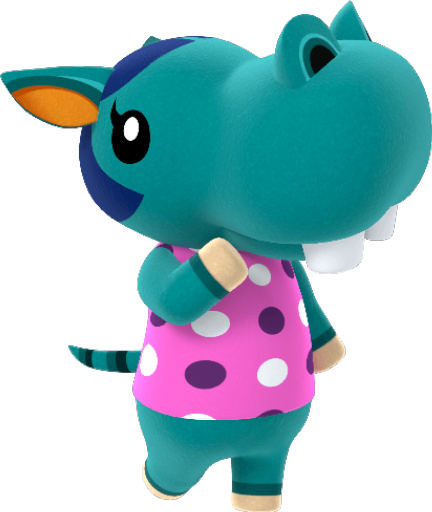 Animal Crossing New Horizons Bertha Image