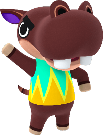 Animal Crossing New Horizons Biff Image