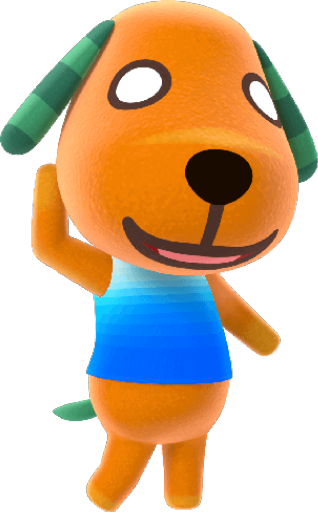 Animal Crossing New Horizons Biskit Image