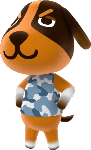 Animal Crossing New Horizons Butch Image